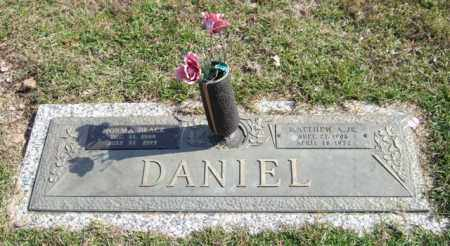 BLACK DANIEL, NORMA - Saline County, Arkansas | NORMA BLACK DANIEL - Arkansas Gravestone Photos