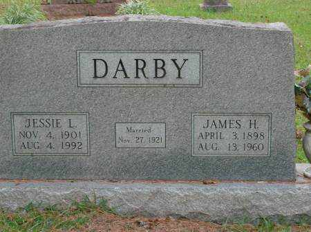 DARBY, JESSIE - Saline County, Arkansas | JESSIE DARBY - Arkansas Gravestone Photos