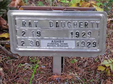 DAUGHERTY, RAY - Saline County, Arkansas   RAY DAUGHERTY - Arkansas Gravestone Photos