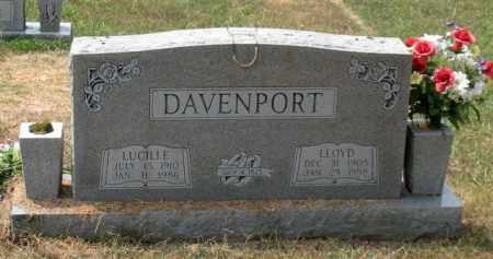 DAVENPORT, LLOYD - Saline County, Arkansas | LLOYD DAVENPORT - Arkansas Gravestone Photos