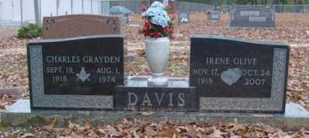 DAVIS, CHARLES GRAYDEN - Saline County, Arkansas   CHARLES GRAYDEN DAVIS - Arkansas Gravestone Photos