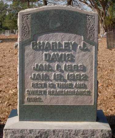 DAVIS, CHARLEY J. - Saline County, Arkansas   CHARLEY J. DAVIS - Arkansas Gravestone Photos