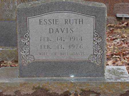 DAVIS, ESSIE RUTH - Saline County, Arkansas   ESSIE RUTH DAVIS - Arkansas Gravestone Photos