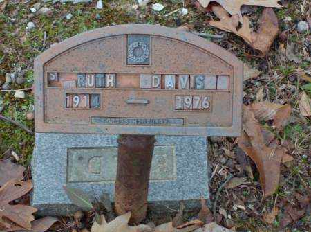 DAVIS, ESSIE RUTH (ORIGINAL MARKER) - Saline County, Arkansas | ESSIE RUTH (ORIGINAL MARKER) DAVIS - Arkansas Gravestone Photos