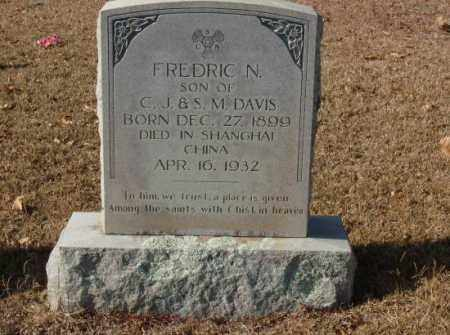 DAVIS, FREDRIC N. - Saline County, Arkansas   FREDRIC N. DAVIS - Arkansas Gravestone Photos