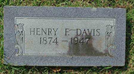 DAVIS, HENRY F. - Saline County, Arkansas | HENRY F. DAVIS - Arkansas Gravestone Photos