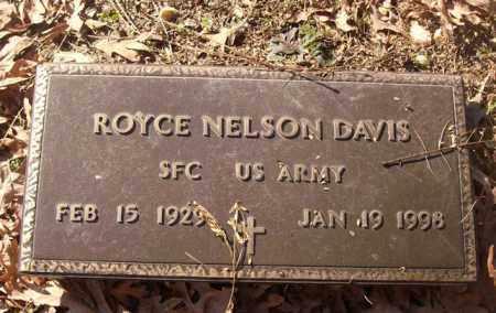 DAVIS (VETERAN), ROYCE NELSON - Saline County, Arkansas | ROYCE NELSON DAVIS (VETERAN) - Arkansas Gravestone Photos