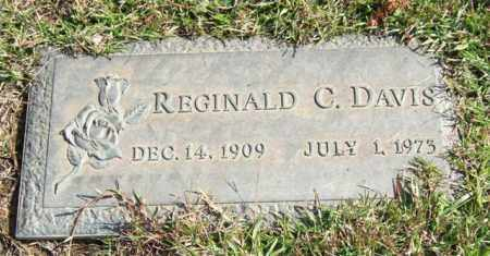 DAVIS, REGINALD C. - Saline County, Arkansas | REGINALD C. DAVIS - Arkansas Gravestone Photos