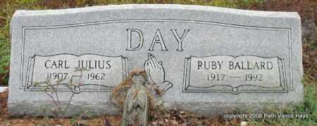 DAY, RUBY - Saline County, Arkansas | RUBY DAY - Arkansas Gravestone Photos