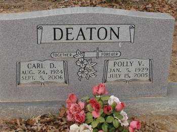 DEATON, POLLY V. - Saline County, Arkansas | POLLY V. DEATON - Arkansas Gravestone Photos