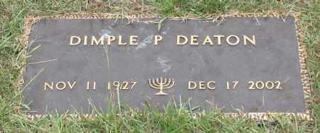 DEATON, DIMPLE P. - Saline County, Arkansas   DIMPLE P. DEATON - Arkansas Gravestone Photos