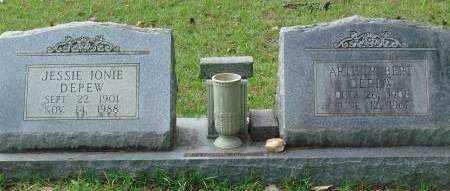 DEPEW, ARTHUR - Saline County, Arkansas | ARTHUR DEPEW - Arkansas Gravestone Photos