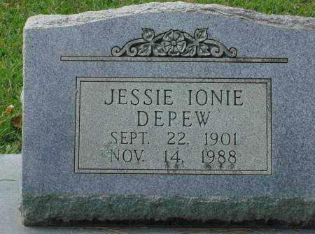 DEPEW, JESSIE IONIE - Saline County, Arkansas | JESSIE IONIE DEPEW - Arkansas Gravestone Photos