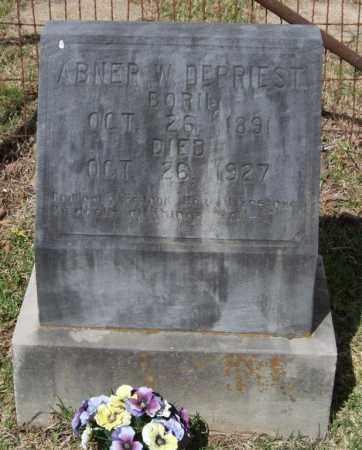 DEPRIEST, ABNER W - Saline County, Arkansas   ABNER W DEPRIEST - Arkansas Gravestone Photos