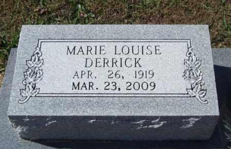BALLARD DERRICK, MARIE LOUISE - Saline County, Arkansas | MARIE LOUISE BALLARD DERRICK - Arkansas Gravestone Photos