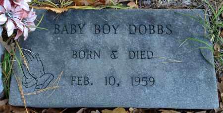 DOBBS, BABY BOY - Saline County, Arkansas | BABY BOY DOBBS - Arkansas Gravestone Photos