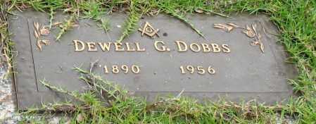 DOBBS, DEWELL G. - Saline County, Arkansas   DEWELL G. DOBBS - Arkansas Gravestone Photos