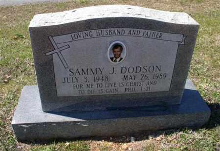 DODSON, SAMMY J. - Saline County, Arkansas | SAMMY J. DODSON - Arkansas Gravestone Photos