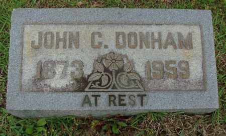 DONHAM, JOHN C - Saline County, Arkansas | JOHN C DONHAM - Arkansas Gravestone Photos