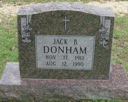 DONHAM, JACK B - Saline County, Arkansas | JACK B DONHAM - Arkansas Gravestone Photos