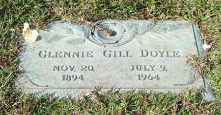 GILL DOYLE, GLENNIE - Saline County, Arkansas | GLENNIE GILL DOYLE - Arkansas Gravestone Photos