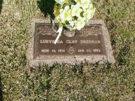 CLAY DRENNAN, LUEVENIA - Saline County, Arkansas | LUEVENIA CLAY DRENNAN - Arkansas Gravestone Photos