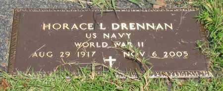 DRENNAN (VETERAN WWII), HORACE L - Saline County, Arkansas | HORACE L DRENNAN (VETERAN WWII) - Arkansas Gravestone Photos
