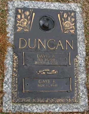 DUNCAN, DAVID A. - Saline County, Arkansas | DAVID A. DUNCAN - Arkansas Gravestone Photos