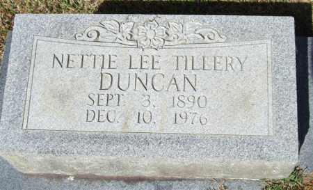 TILLERY DUNCAN, NETTIE LEE - Saline County, Arkansas | NETTIE LEE TILLERY DUNCAN - Arkansas Gravestone Photos