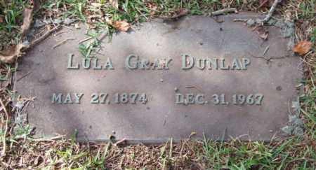 DUNLAP, LULA - Saline County, Arkansas | LULA DUNLAP - Arkansas Gravestone Photos
