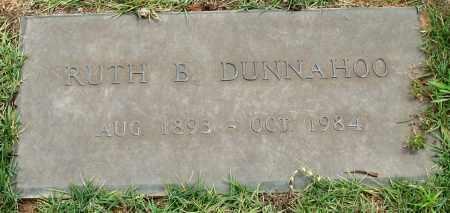 DUNNAHOO, RUTH B. - Saline County, Arkansas   RUTH B. DUNNAHOO - Arkansas Gravestone Photos