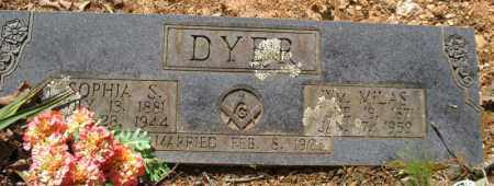 DYER, SOPHIA S. - Saline County, Arkansas | SOPHIA S. DYER - Arkansas Gravestone Photos