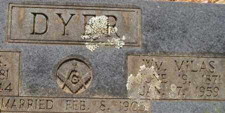 DYER, WILLIAM MILAS (CLOSEUP) - Saline County, Arkansas | WILLIAM MILAS (CLOSEUP) DYER - Arkansas Gravestone Photos