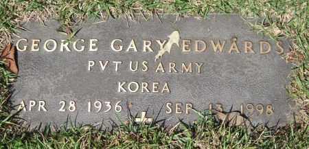 EDWARDS (VETERAN KOR), GEORGE GARY - Saline County, Arkansas   GEORGE GARY EDWARDS (VETERAN KOR) - Arkansas Gravestone Photos