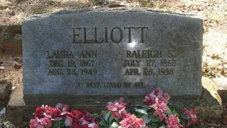 ELLIOTT, LAURA ANN - Saline County, Arkansas | LAURA ANN ELLIOTT - Arkansas Gravestone Photos
