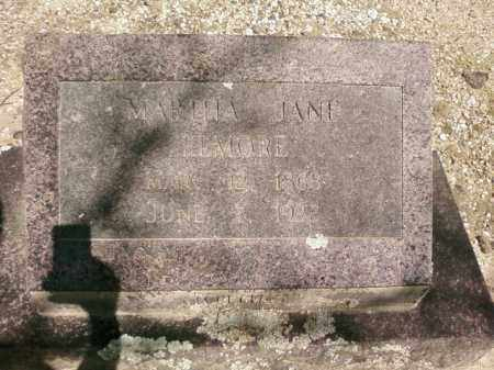 ELMORE, MARTHA JANE - Saline County, Arkansas   MARTHA JANE ELMORE - Arkansas Gravestone Photos