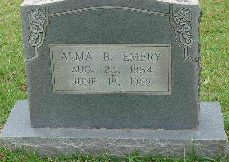 EMERY, ALMA B. - Saline County, Arkansas | ALMA B. EMERY - Arkansas Gravestone Photos