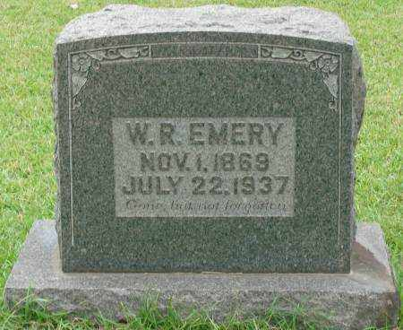 EMERY, W.R. - Saline County, Arkansas | W.R. EMERY - Arkansas Gravestone Photos