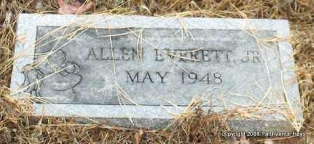 EVERETT, JR., ALLEN - Saline County, Arkansas   ALLEN EVERETT, JR. - Arkansas Gravestone Photos