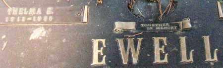 EWELL, THELMA E. - Saline County, Arkansas | THELMA E. EWELL - Arkansas Gravestone Photos