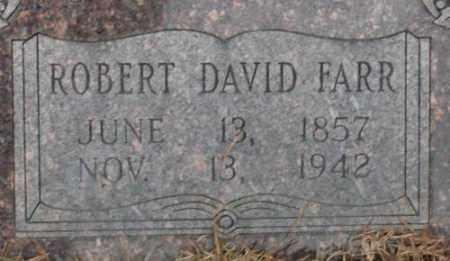 FARR, ROBERT DAVID - Saline County, Arkansas   ROBERT DAVID FARR - Arkansas Gravestone Photos