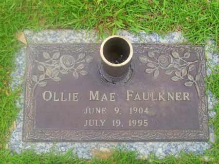 PERRYMAN FAULKNER, OLLIE MAE - Saline County, Arkansas | OLLIE MAE PERRYMAN FAULKNER - Arkansas Gravestone Photos