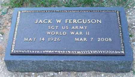 FERGUSON (VETERAN WWII), JACK WINTON - Saline County, Arkansas   JACK WINTON FERGUSON (VETERAN WWII) - Arkansas Gravestone Photos