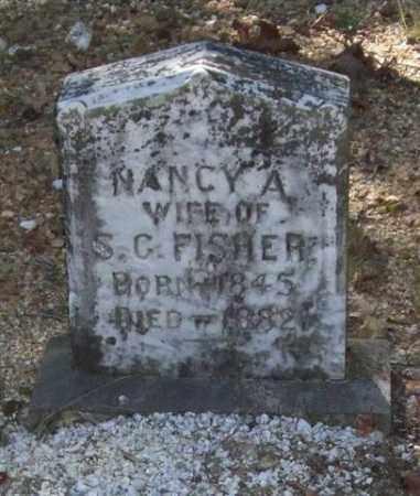 FISHER, NANCY A. - Saline County, Arkansas   NANCY A. FISHER - Arkansas Gravestone Photos