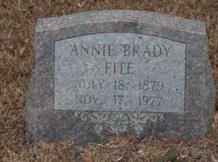 FITE, ANNIE - Saline County, Arkansas | ANNIE FITE - Arkansas Gravestone Photos