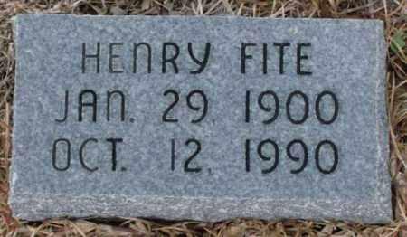 FITE, HENRY - Saline County, Arkansas   HENRY FITE - Arkansas Gravestone Photos
