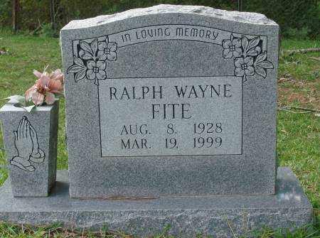 FITE, RALPH WAYNE - Saline County, Arkansas | RALPH WAYNE FITE - Arkansas Gravestone Photos