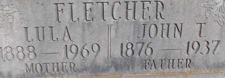 FLETCHER, JOHN TYSON (CLOSEUP) - Saline County, Arkansas | JOHN TYSON (CLOSEUP) FLETCHER - Arkansas Gravestone Photos