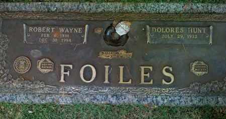 """FOILES, ROBERT WAYNE """"BOB"""" - Saline County, Arkansas   ROBERT WAYNE """"BOB"""" FOILES - Arkansas Gravestone Photos"""