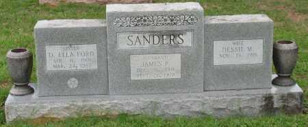 SANDERS, JAMES P. - Saline County, Arkansas | JAMES P. SANDERS - Arkansas Gravestone Photos